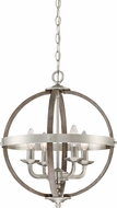 Quoizel FSN5204BN Fusion Modern Brushed Nickel 16.75  Pendant Hanging Light