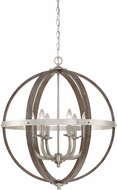 Quoizel FSN5206BN Fusion Modern Brushed Nickel 24.75  Drop Lighting