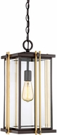 Quoizel GLD1910WT Goldenrod Modern Western Bronze Outdoor Hanging Pendant Light