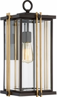 Quoizel GLD8410WT Goldenrod Contemporary Western Bronze Outdoor 10  Wall Mounted Lamp