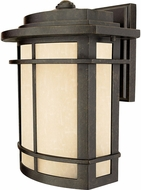 Quoizel GLN8410IB Galen Contemporary Imperial Bronze Outdoor Wall Light Sconce