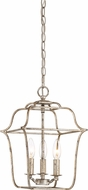 Quoizel GLY5203CS Gallery Century Silver Leaf Foyer Lighting Fixture