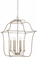 Quoizel GLY5206CS Gallery Century Silver Leaf 22  Foyer Light Fixture