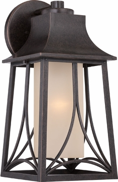 Quoizel HTR8408IBFL Hunter Imperial Bronze Fluorescent Exterior Wall Sconce