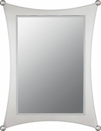 Quoizel JA43225BN Jasper Contemporary Brushed Nickel Wall Mounted Mirror
