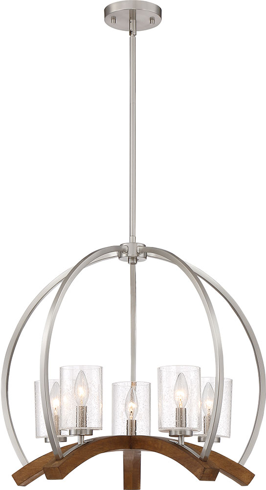 Quoizel kdn5005bn kayden contemporary brushed nickel chandelier quoizel kdn5005bn kayden contemporary brushed nickel chandelier light loading zoom aloadofball Image collections