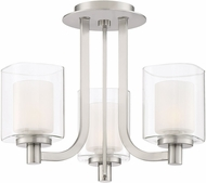 Quoizel KLT1715BN Kolt Modern Brushed Nickel Xenon Ceiling Lighting Fixture