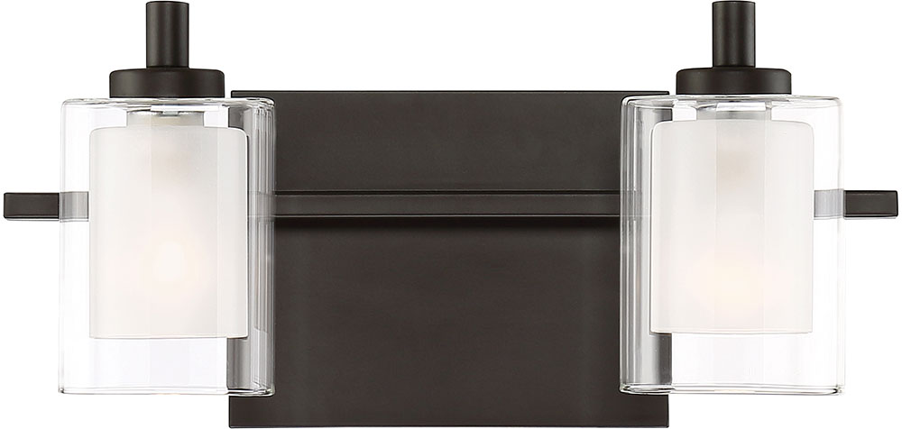 western bathroom light fixtures quoizel klt8602wtled kolt modern western bronze led 2 21371