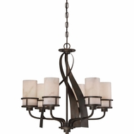 Quoizel KY5506IN Kyle Iron Gate Ceiling Chandelier