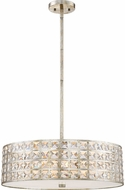 Quoizel LXY2822VG Luxury Vintage Gold 22  Drum Ceiling Light Pendant