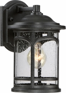 Quoizel MBH8407KFL Marblehead Mystic Black Fluorescent Outdoor Wall Light Sconce