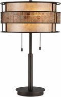 Quoizel MC842TRC Laguna Contemporary Renaissance Copper Table Lamp Lighting