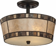 Quoizel MCKD1715TM Kingsford Teco Marrone Overhead Light Fixture
