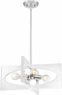 Quoizel MDP2820C Midpoint Contemporary Polished Chrome Pendant Lamp
