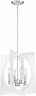 Quoizel MDP5204C Midpoint Modern Polished Chrome Entryway Light Fixture