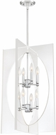 Quoizel MDP5208C Midpoint Contemporary Polished Chrome Foyer Lighting