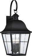Quoizel MHE8412K Millhouse Mystic Black Outdoor Wall Lighting Fixture