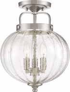 Quoizel MID1712BN Middleton Contemporary Brushed Nickel Overhead Lighting Fixture