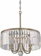 Quoizel MIR2818VG Mirage Modern Vintage Gold Drop Lighting Fixture