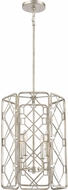 Quoizel MIS5204RB Mission Modern Rubbed Silver 16 Foyer Light Fixture
