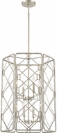 Quoizel MIS5208RB Mission Contemporary Rubbed Silver 22 Foyer Lighting Fixture