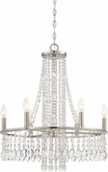 Quoizel MJT5006BN Majestic Modern Brushed Nickel Mini Ceiling Chandelier