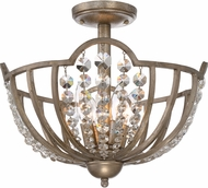 Quoizel MJY1615VG Majesty Vintage Gold Ceiling Light