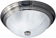 Quoizel ML182ESUL Melon Empire Silver 10.5  Ceiling Light