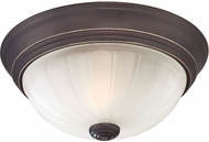Quoizel ML182PNUL Melon Palladian Bronze 10.5  Ceiling Light Fixture