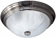 Quoizel ML183ES Melon Empire Silver 13  Ceiling Light Fixture