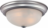Quoizel MNR1613BN Manor Brushed Nickel 13  Flush Ceiling Light Fixture