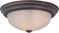 Quoizel MNR1613PN Manor Palladian Bronze 13  Flush Mount Ceiling Light Fixture