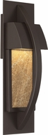 Quoizel MNT8404WT Monument Modern Western Bronze LED Exterior Wall Mounted Lamp