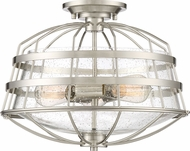 Quoizel MTE1716BN Maritime Contemporary Brushed Nickel Flush Mount Lighting