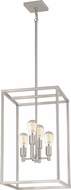 Quoizel NHR5204BN New Harbor Modern Brushed Nickel Foyer Light Fixture