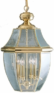 Quoizel NY1180B Newbury Polished Brass Outdoor 16  Hanging Light Fixture