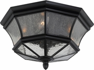 Quoizel NY1615K Newbury Mystic Black Outdoor Ceiling Light Fixture