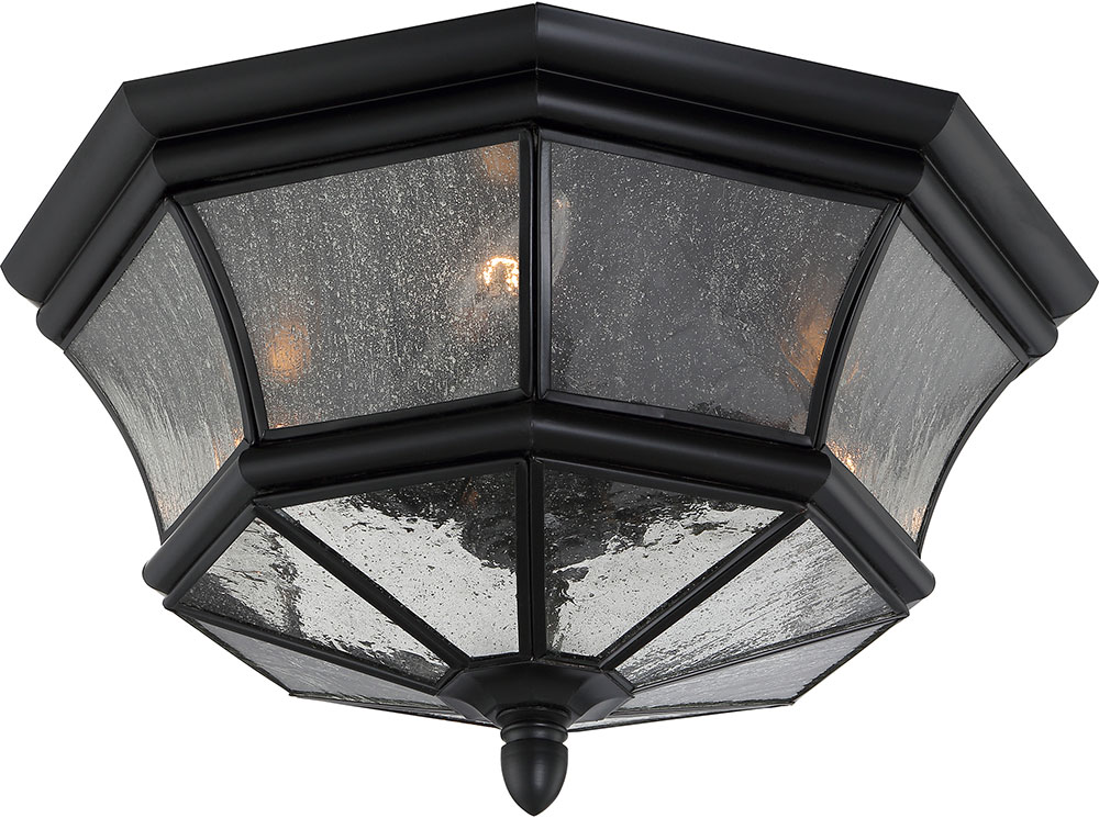 Quoizel ny1615k newbury mystic black outdoor ceiling light fixture quo ny1615k for Exterior ceiling light fixture