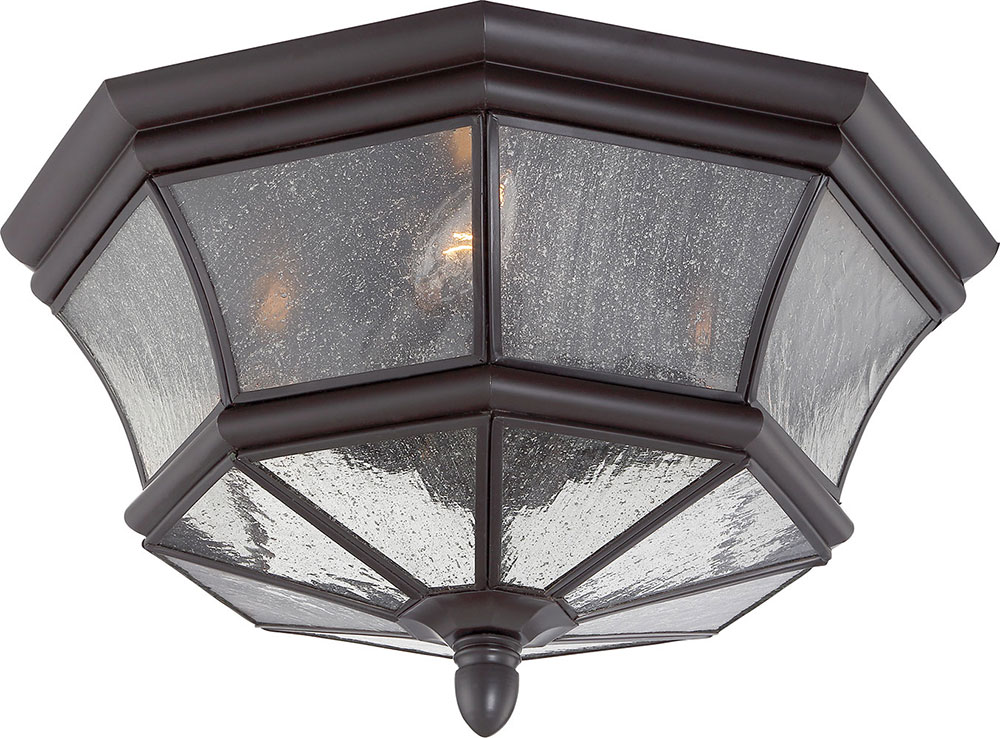 Quoizel NY1615Z Newbury Medici Bronze Outdoor Ceiling Light