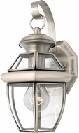 Quoizel NY8315P Newbury Pewter Outdoor 7  Wall Light Sconce