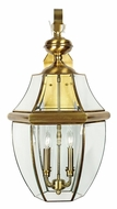 Quoizel NY8339A Newbury Antique Brass Outdoor 16  Wall Light Sconce