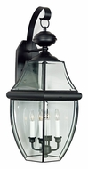 Quoizel NY8339K Newbury Mystic Black Outdoor 16  Wall Lighting Fixture