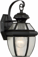 Quoizel NY8407K Newbury Mystic Black Outdoor Wall Lamp