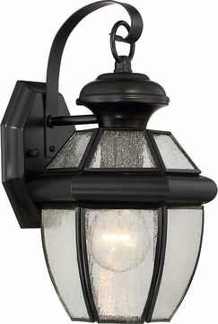 Quoizel NY8407KFL Newbury Mystic Black Fluorescent Exterior Wall Lighting