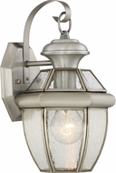 Quoizel NY8407PFL Newbury Pewter Fluorescent Exterior Light Sconce