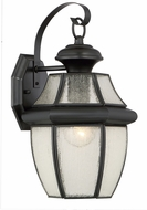 Quoizel NY8409K Newbury Mystic Black Outdoor Wall Sconce Lighting