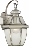 Quoizel NY8409PFL Newbury Pewter Fluorescent Exterior Wall Lighting Sconce