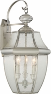 Quoizel NY8412P Newbury Pewter Outdoor Wall Sconce