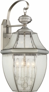 Quoizel NY8416P Newbury Pewter Exterior Sconce Lighting