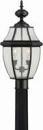 Quoizel NY9011K Newbury Mystic Black Exterior Post Light Fixture